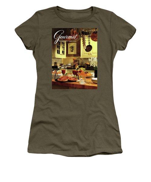 A Buffet Brunch Party Women's T-Shirt (Athletic Fit)