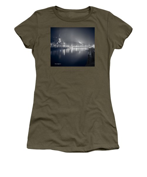 Women's T-Shirt featuring the photograph A Cathedral In The Mist II by Stwayne Keubrick