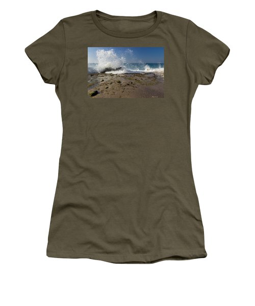 A Day Like Today Women's T-Shirt (Junior Cut) by Heidi Smith