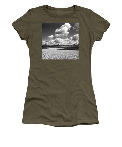 A Field Of Wheat. Limagne. Auvergne. France Women's T-Shirt