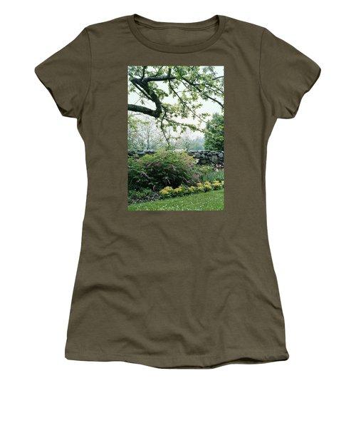 A Flower Bed In Mrs. Frank Audibert's Garden Women's T-Shirt
