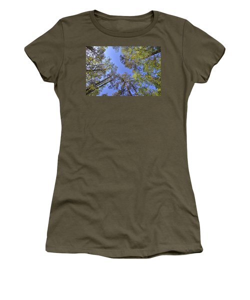 A Forest Sky Women's T-Shirt (Athletic Fit)