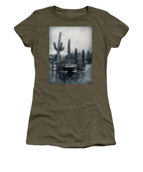 A Gentle Winter Rain Women's T-Shirt (Athletic Fit)