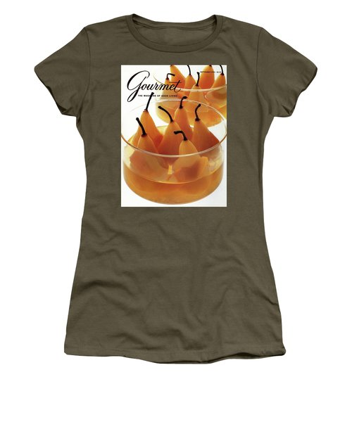 A Gourmet Cover Of Baked Pears Women's T-Shirt