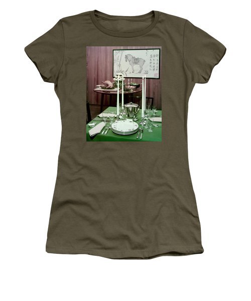 A Green Table Women's T-Shirt