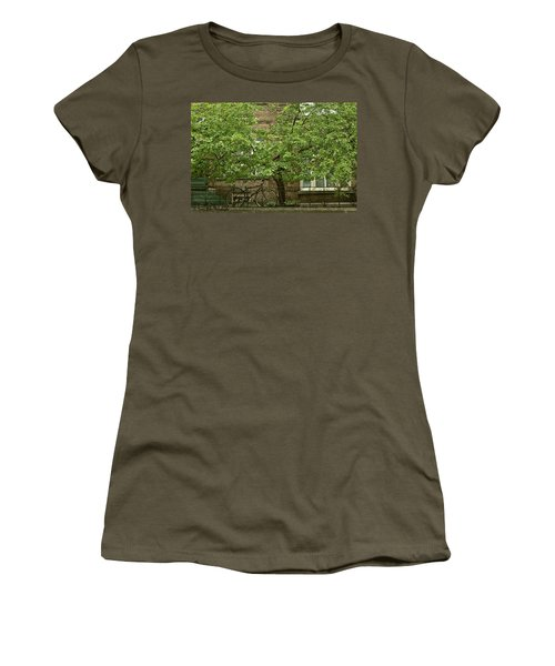 A Guardian In The Rain Women's T-Shirt (Athletic Fit)
