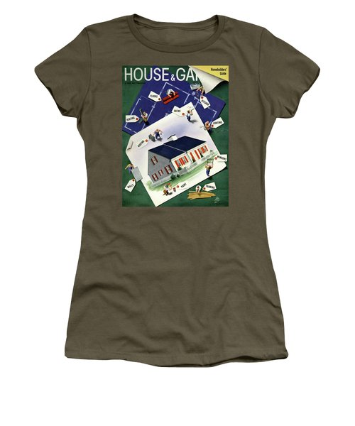 A House And Garden Cover Of A House Women's T-Shirt