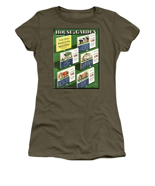 A House And Garden Cover Of Floorplans Women's T-Shirt