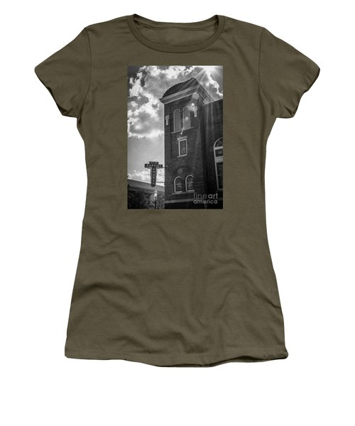 A Light Shines Down Women's T-Shirt