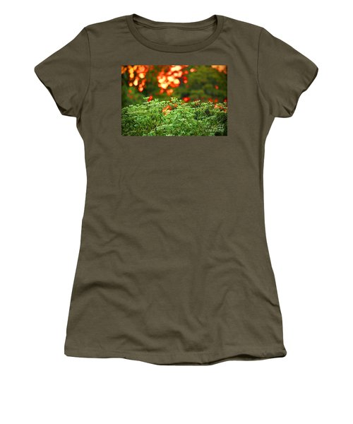 A Love Bug Sunset Women's T-Shirt (Junior Cut) by Kim Pate