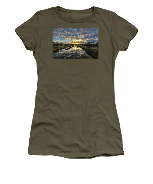 A Magical Marshmallow Sunrise  Women's T-Shirt