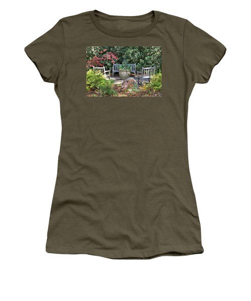 A Quiet Place To Meet Women's T-Shirt (Athletic Fit)
