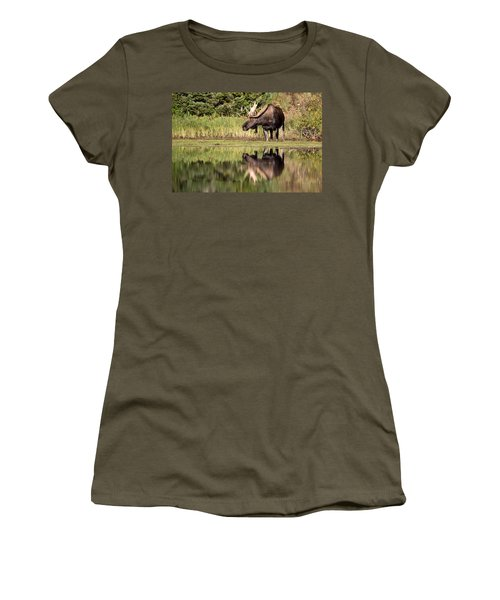 A Reflective Mood Women's T-Shirt (Athletic Fit)