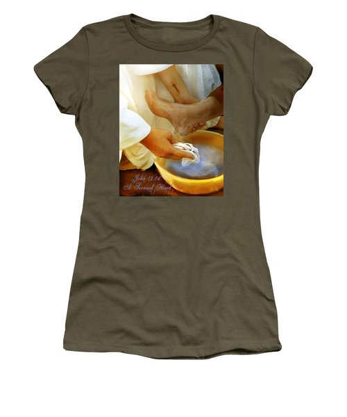 A Servants Heart Women's T-Shirt (Athletic Fit)
