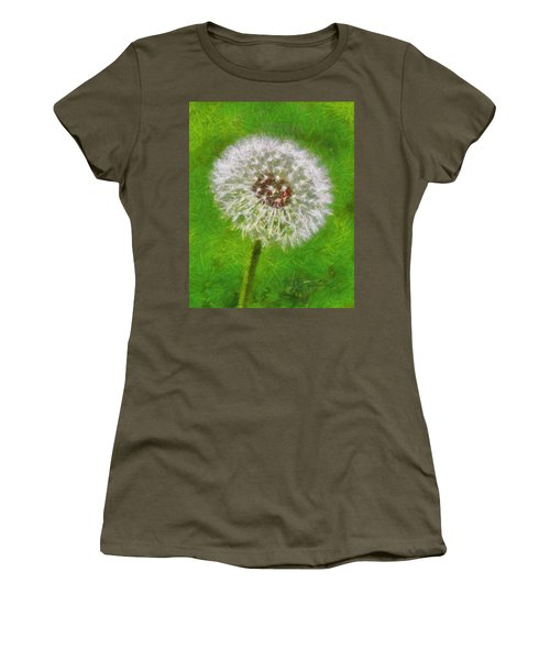 Women's T-Shirt (Junior Cut) featuring the painting A Simple Beauty by Joe Misrasi