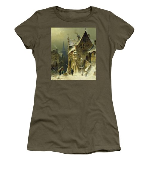 A Small Town In The Rhine Women's T-Shirt