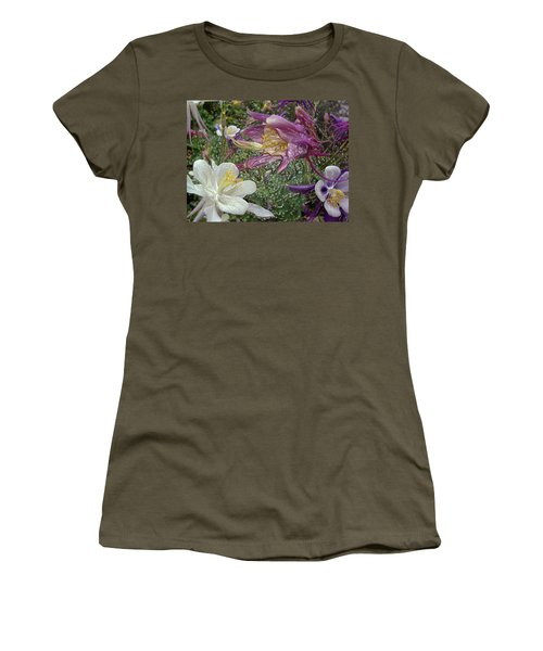 a taste of dew i do and PCC  garden too     GARDEN IN SPRING MAJOR Women's T-Shirt