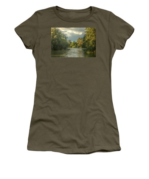 A View Down The Lake Women's T-Shirt