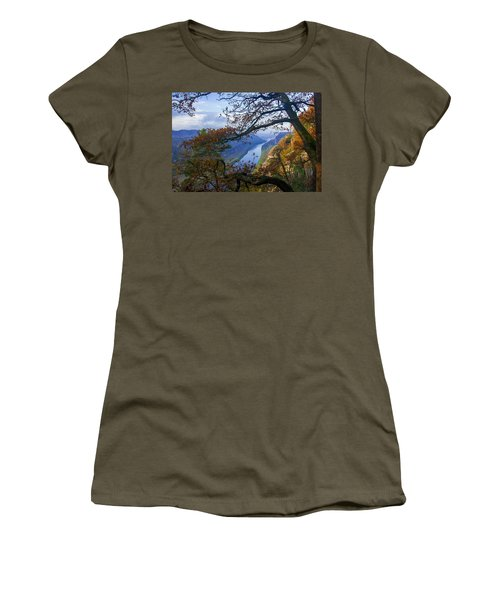A Window To The Elbe In The Saxon Switzerland Women's T-Shirt