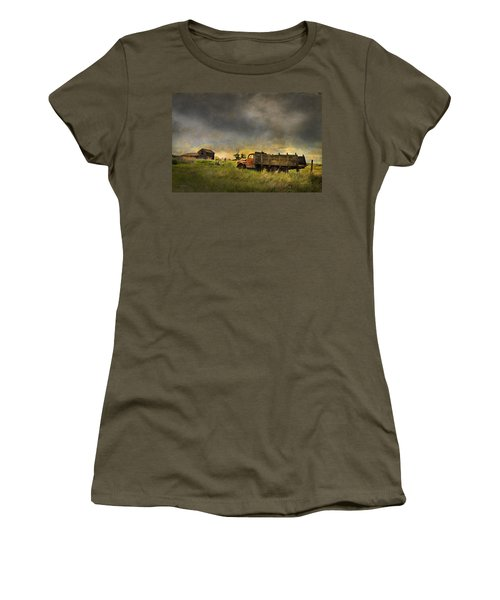Abandoned Farm Truck Women's T-Shirt (Athletic Fit)