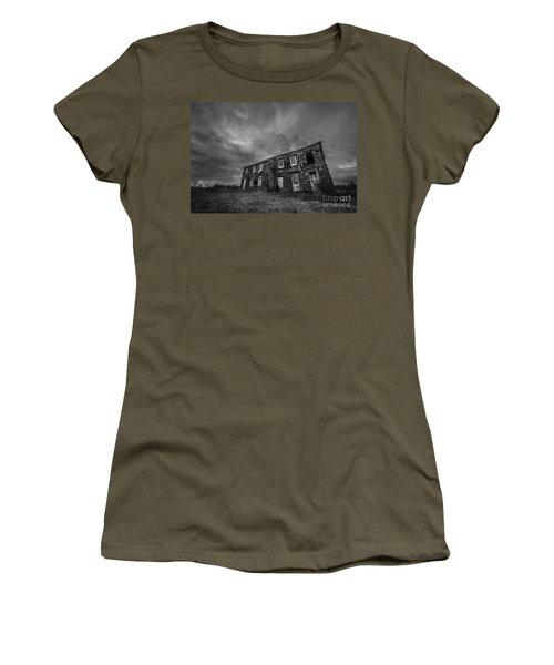 Abandoned History 2 Bw Women's T-Shirt