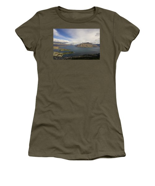 Above Queenstown #2 Women's T-Shirt