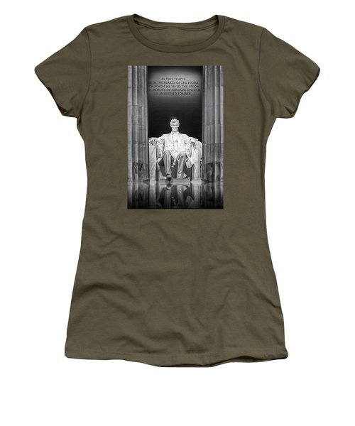 Abraham Lincoln Memorial Women's T-Shirt