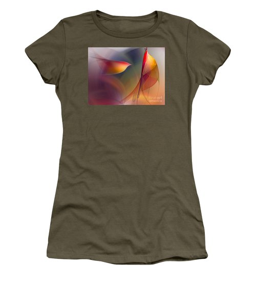 Abstract Fine Art Print Early In The Morning Women's T-Shirt