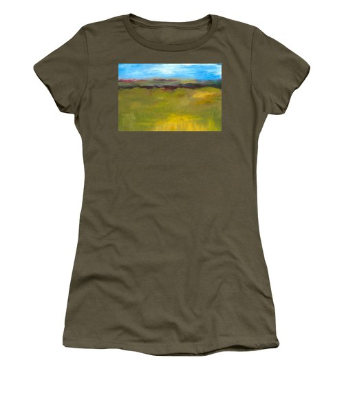 Abstract Landscape - The Highway Series Women's T-Shirt