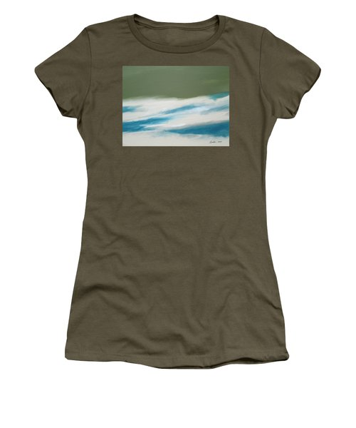 Abstract No. 1 Women's T-Shirt (Athletic Fit)