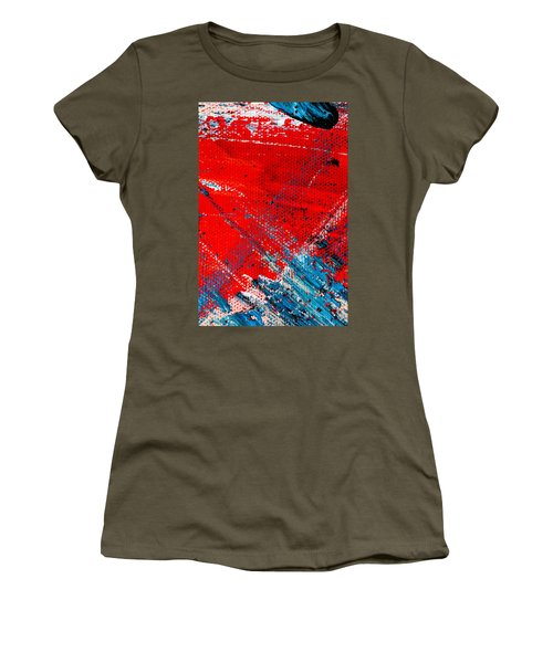 Abstract Original Artwork One Hundred Phoenixes Untitled Number Five Women's T-Shirt (Athletic Fit)