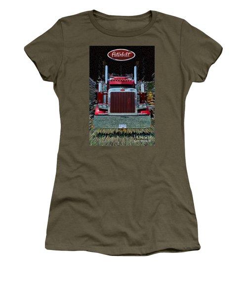 Abstract Peterbilt Women's T-Shirt