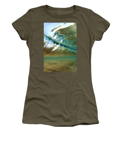 Abstract Underwater 2 Women's T-Shirt (Athletic Fit)