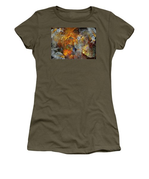 Abstraction 435-08-13  Marucii Women's T-Shirt (Athletic Fit)
