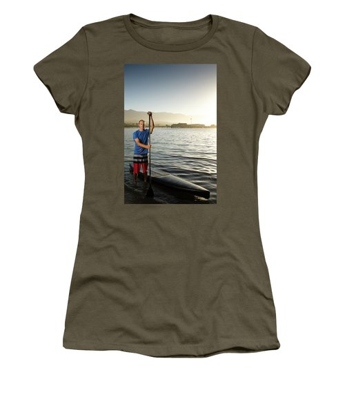 Adam Kircaldie , Athletic Portrait Women's T-Shirt