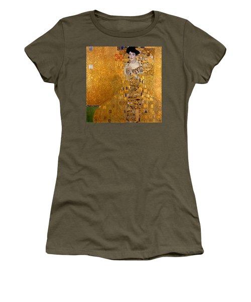 Adele Bloch Bauers Portrait Women's T-Shirt (Junior Cut) by Gustive Klimt