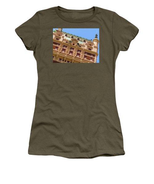 Women's T-Shirt (Junior Cut) featuring the photograph Adolphus Hotel - Dallas #1 by Robert ONeil