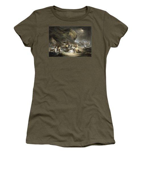 African Hospitality, Engraved By John Raphael Smith, 1791 Mezzotint Women's T-Shirt
