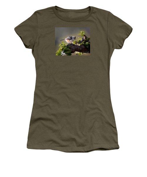 After The Bath Women's T-Shirt (Junior Cut) by Nava Thompson