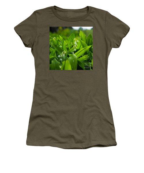 Women's T-Shirt (Junior Cut) featuring the photograph After The Rain by Kennerth and Birgitta Kullman