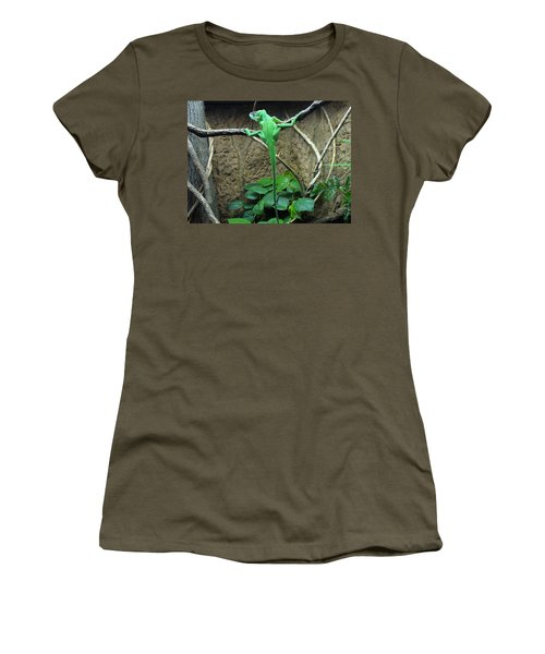 Women's T-Shirt (Junior Cut) featuring the photograph Afternoon Workout by Lingfai Leung