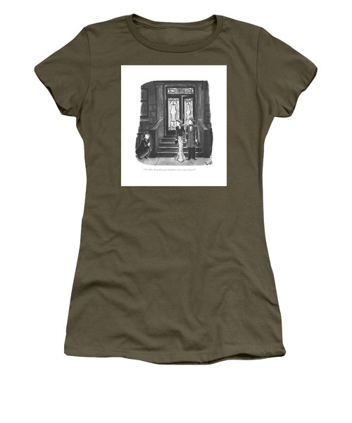 Ah, Miss Bergdall, Your Headache Seems Much Women's T-Shirt