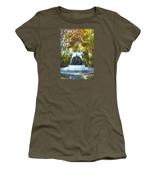 Alabama Monument At Gettysburg Women's T-Shirt (Junior Cut) by Paul W Faust -  Impressions of Light