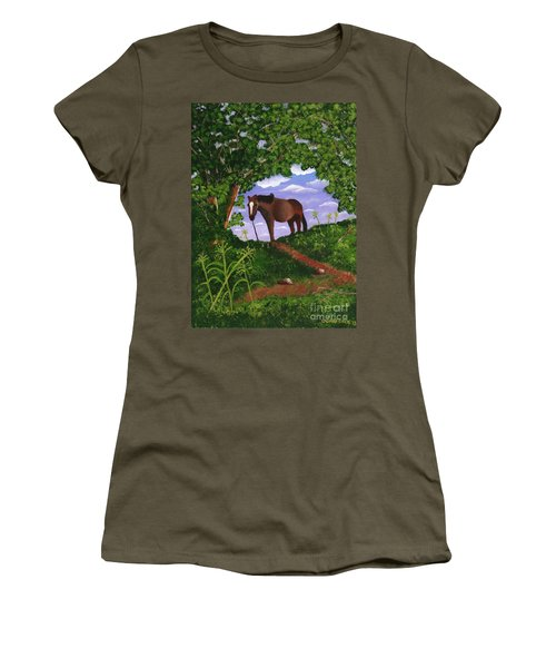 All Alone Women's T-Shirt