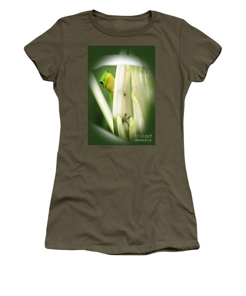 Women's T-Shirt (Junior Cut) featuring the photograph Aloha by Ellen Cotton