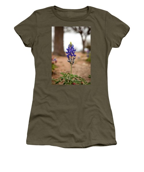 Alone In The Woods Women's T-Shirt