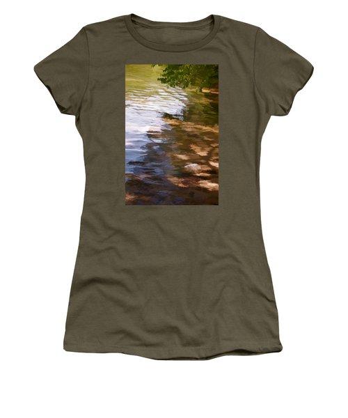 Along The Shore Women's T-Shirt (Athletic Fit)
