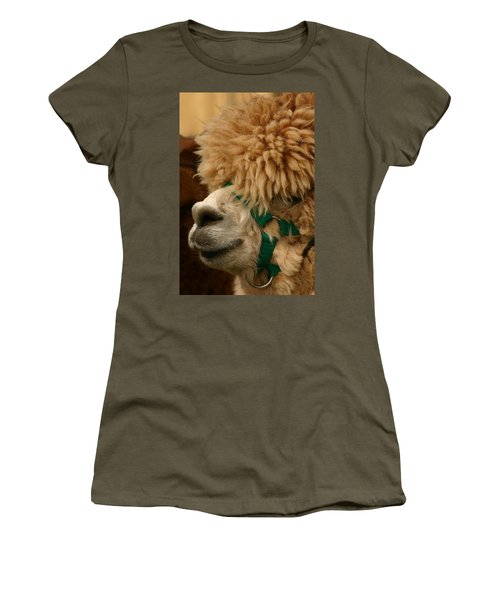 Alpaca Women's T-Shirt (Athletic Fit)