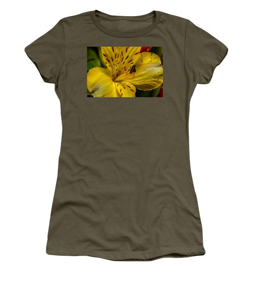 Alstroemeria Bloom Women's T-Shirt
