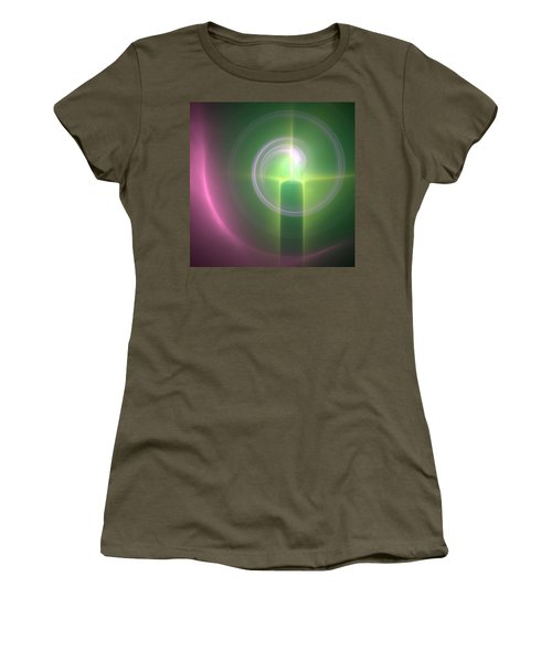Women's T-Shirt (Junior Cut) featuring the digital art Altar by Svetlana Nikolova